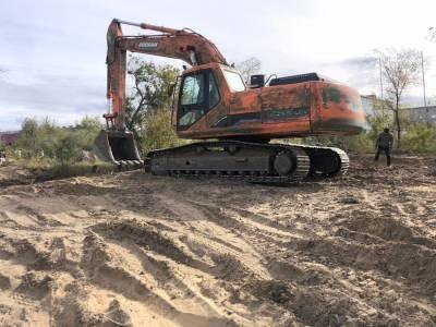 Горсад в Улан-Удэ подготовили к масштабной реконструкции