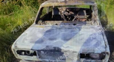 Авто нашли в лесополосе: поджигателя поймали в Ярославле