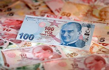 Турецкая лира рухнула рекордно c начала века