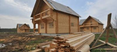 Строительство жилья в ряде районов Карелии выросло на фоне общего спада по республике