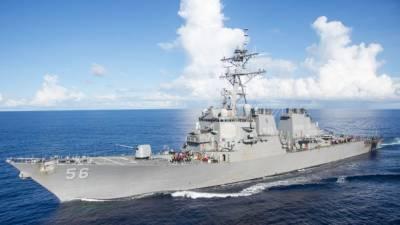 """США прокомментировали инцидент с эсминцем """"Джон Маккейн"""""""