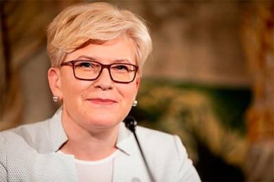 Парламент Литвы утвердил Ингриду Шимоните на посту премьер-министра