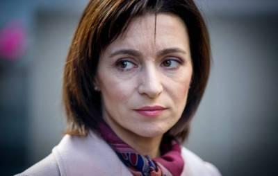 Санду заявила, что у нее нет задачи активизировать сотрудничество Молдавии с НАТО