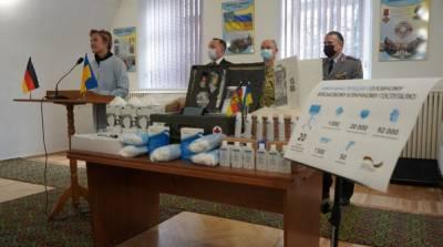 Немецкая армия передала украинским военным 20 аппаратов ИВЛ
