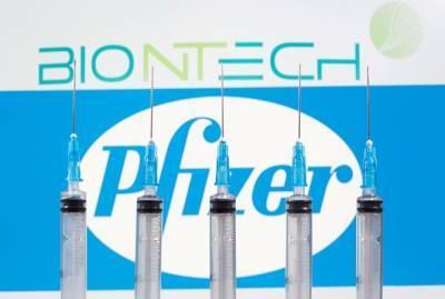 С 7 декабря в Великобритания начнут делать прививки от коронавируса вакциной Pfizer и Biontech