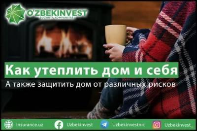 «Узбекинвест»: как утеплить дом и себя