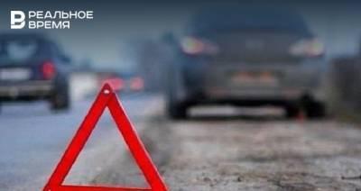 В Татарстане водитель из Чувашии погиб при столкновении с грузовиком