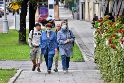 Москва находится во втором десятке среди регионов РФ по числу новых случаев коронавируса