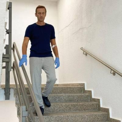 Навальный рассказал как идет восстановление его здоровье