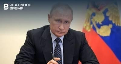 Путин заявил, что Россия обладает самыми современными видами оружия