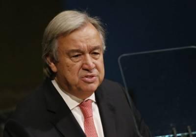 Генсек ООН назвал неопределенной ситуацию с санкциями Ирану