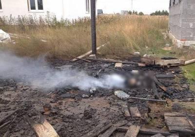 Стало известно, кто погиб на пожаре в бытовке под Рязанью