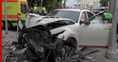 Пострадавшие в ДТП в центре Москвы находятся в реанимации