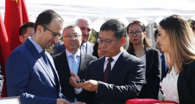Вакцина и новое оборудование для армянских больниц: Торосян поговорил с послом Китая