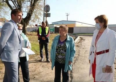 Мэр Рязани встретилась с активистами поселка Никуличи
