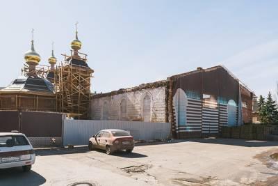 Митрополит освятит колокола возрождаемого в Нижегородском кремле храма