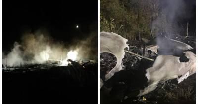 Крушение Ан-26 под Харьковом: идентификация тел займет три недели