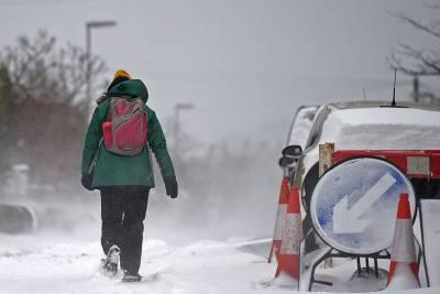 Прогноз синоптиков на предстоящую зиму