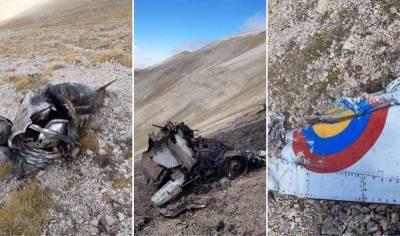 Опубликованы фото сбитого Су-25 ВВС Армении: за штурвалом был летчик с русской фамилией