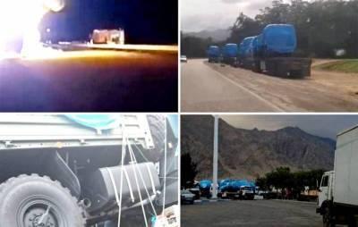 В Сети обсуждают караваны военных грузовиков, идущих из Ирана в Армению