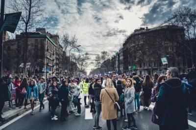 В Вене десятки тысяч COVID-диссидентов протестуют против локдауна