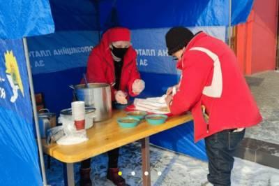 Марчевский открыл пункты бесплатного горячего питания в Покровске, Мирнограде и Доброполье