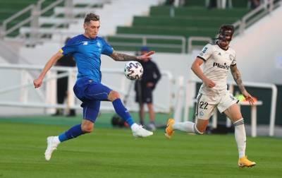 Динамо уступило Легии в товарищеском матче