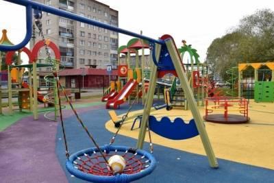 69 детских спортивных площадок за 212 миллионов рублей оборудуют в Белгороде