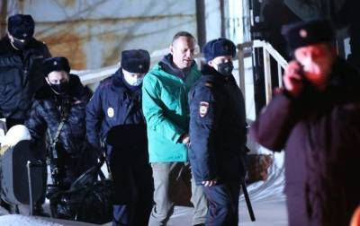Алексея Навального отправили в «Матросскую тишину»