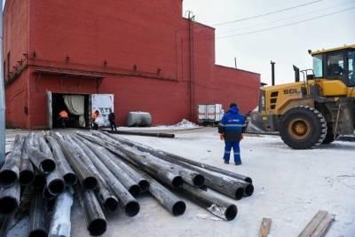 Согревающий кабель спасёт от замерзания резервный трубопровод в Питкяранте