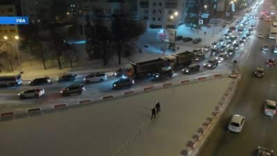 Стало известно, когда завершится ремонт путепровода через проспект Салавата Юлаева в Уфе