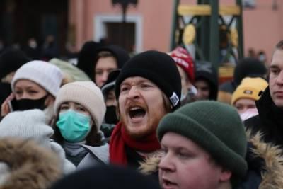 Беглов ожидает новую вспышку COVID-19 после митинга 23 января