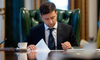 Зеленский внес законопроект о лишении свободы за ложь в декларации