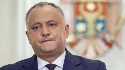 Игорь Додон раскритиковал новый состав Высшего совета безопасности Молдавии