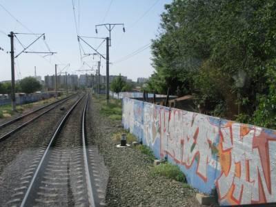 Железнодорожники обеспокоены ростом количества случаев вандализма в отношении подвижного состава и оборудования