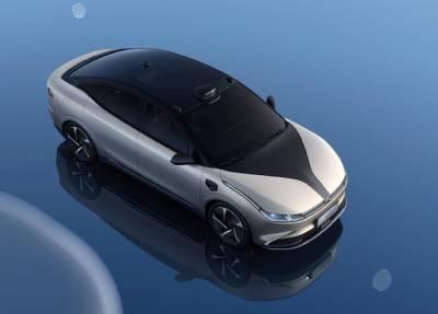 В Китае представили электромобиль с лидарами и запасом хода в 700 километров