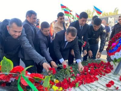 В Барде почтили память жертв армянского террора (ФОТО)