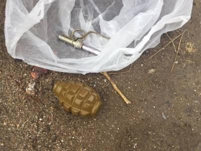 В одном из бакинских поселков найдена ручная граната (ФОТО/ВИДЕО)