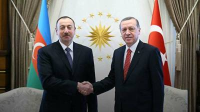 Президент Азербайджана Ильхам Алиев поздравил Президента Турции Реджепа Тайипа Эрдогана