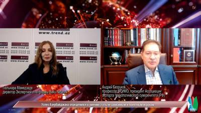 По итогам валдайских встреч: Андрей Безруков о будущем мира - на платформе Baku Network (ВИДЕО)