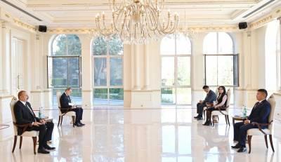 Президент Ильхам Алиев: Во время Второй Карабахской войны мы чувствовали поддержку народа Кыргызстана