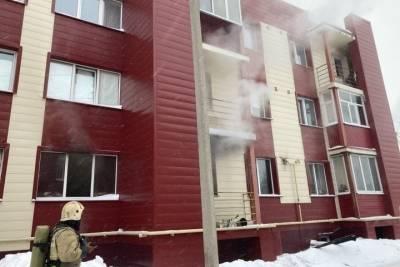 В Оренбурге сгорела квартира: погибли три человека