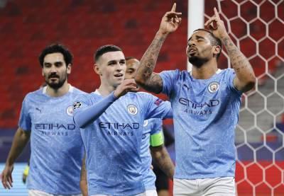 Футболисты английского «Манчестер Сити» победили немецкую «Боруссию», а итальянская «Аталанта» уступила испанскому «Реалу»