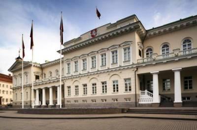 Посты покидают канцлер президентской администрации Литвы, пресс-секретарь президента