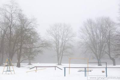 Температура воздуха в Беларуси в феврале была ниже нормы на 2,2 градуса