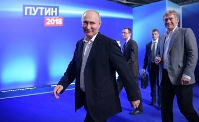 Diário de Notícias: вечный Владимир Путин