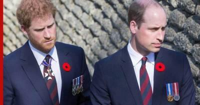 Уильям и Гарри станут плечом к плечу за гробом принца Филиппа