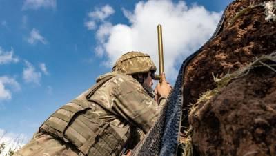 Украинские силовики заявили о гибели одного военного в Донбассе при обстреле