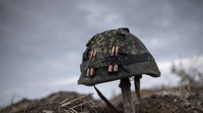 На Донбассе сегодня снова погиб украинский военный