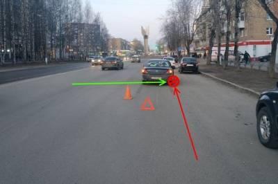 Пешеходы-нарушители дважды спровоцировали ДТП в Сыктывкаре